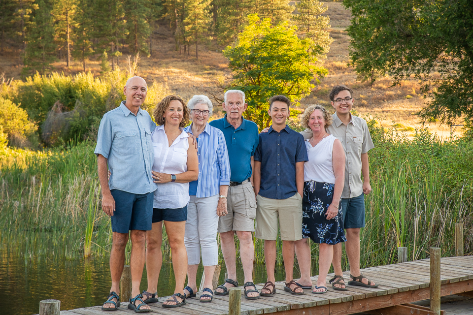 Family photos, Winthrop WA