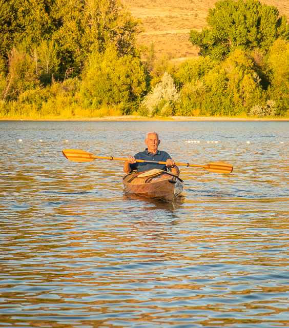 kayak, Pearrygin Lake, family photos